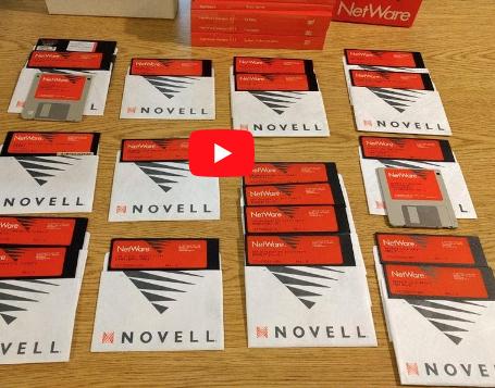 Novell NetWare video