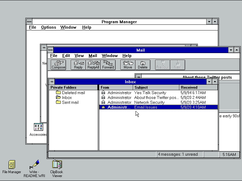 Microsoft Mail