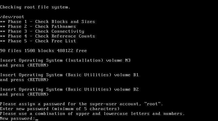 insert disks